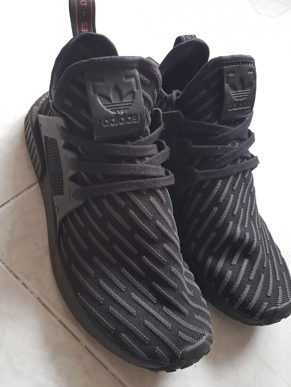 promo code 888a7 11789 Adidas NMD XR1 Triple Black, Men's Fashion, Footwear ...