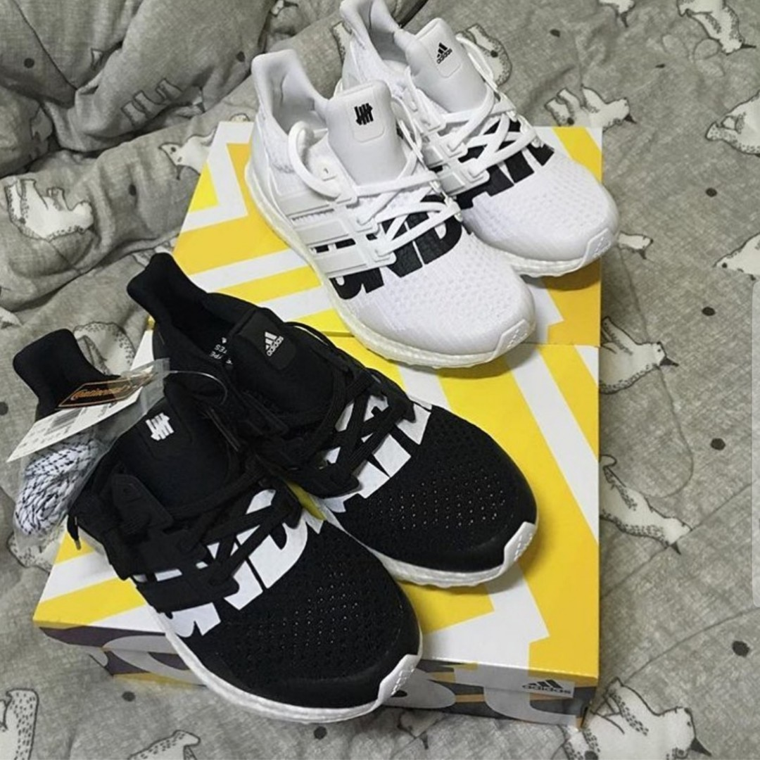 67c95be424865 Adidas Ultraboost x Undefeated White   Black