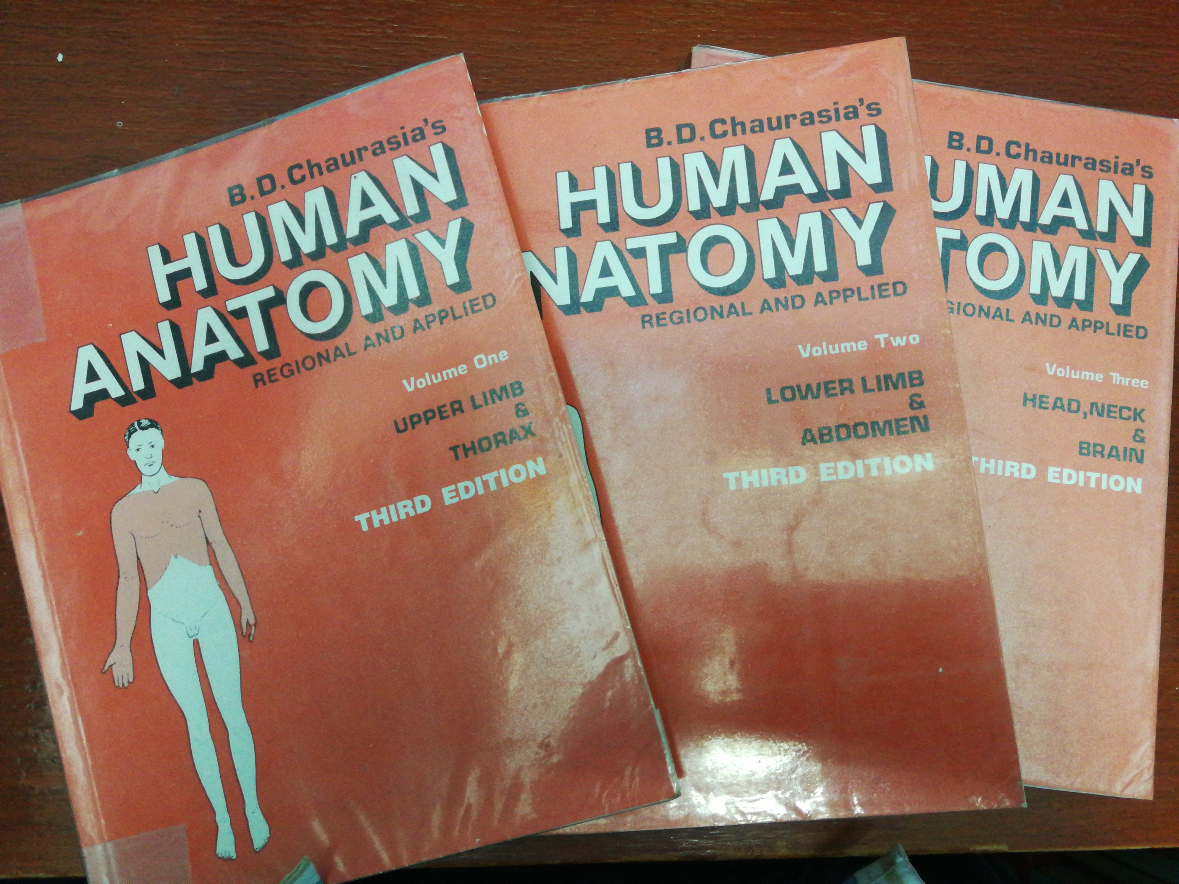 B D Chaurasias Human Anatomy Vol1 Vol3 Textbooks On Carousell