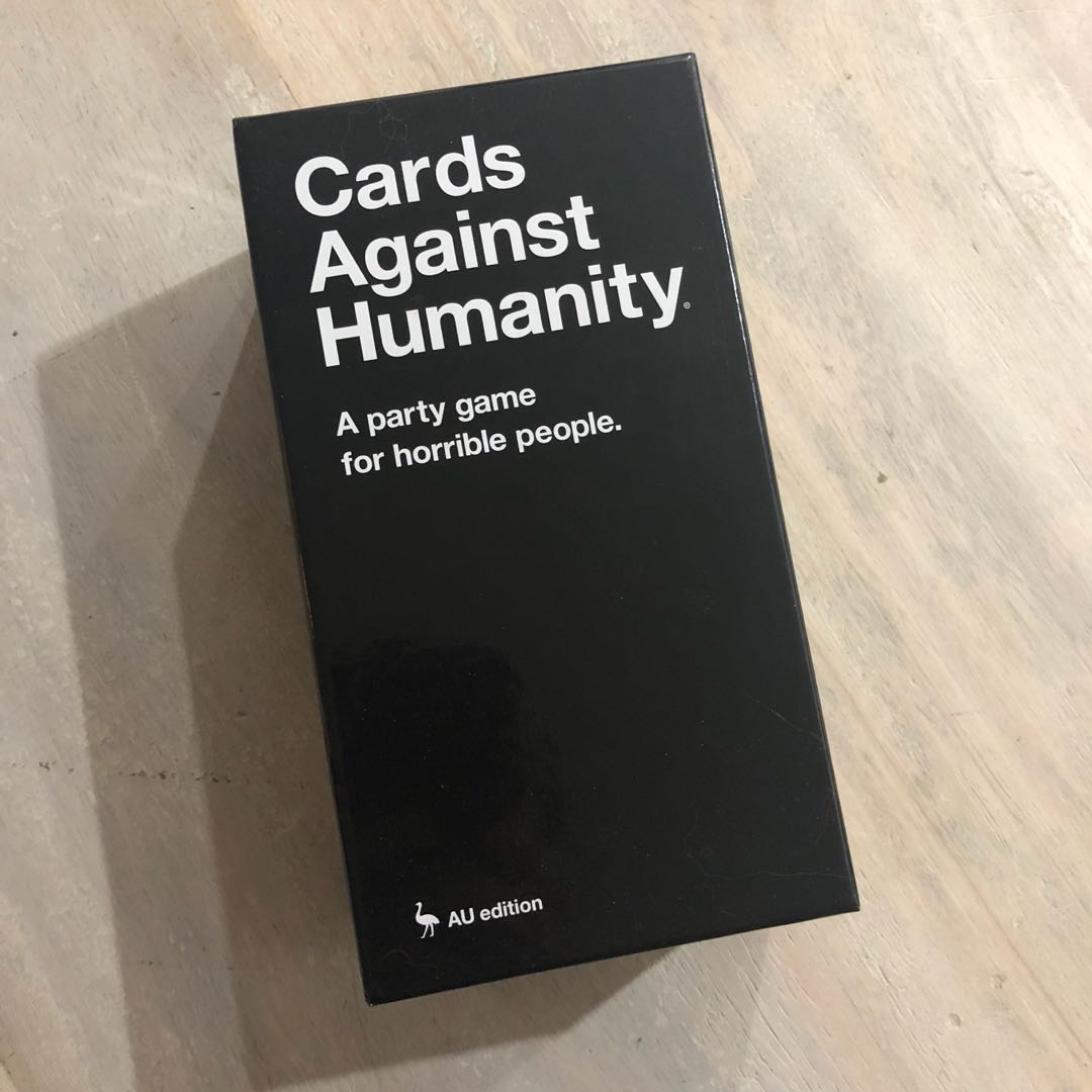 Cards Against Humanity AU Edition - Brand New