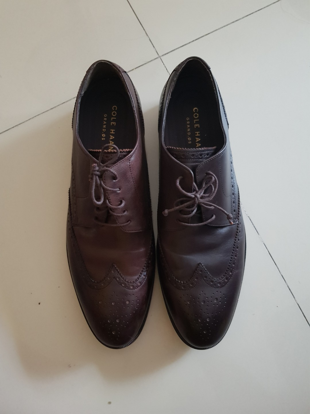 COLE HAAN GRAND.OS Dark Brown Leather