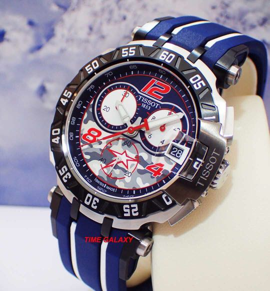 455297f1570 Collectible item Brand New TISSOT T-Race T092.417.27.057.03 Nicky ...