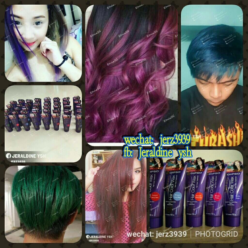 Different Colors Hair Treatment Health Beauty Hair Care On