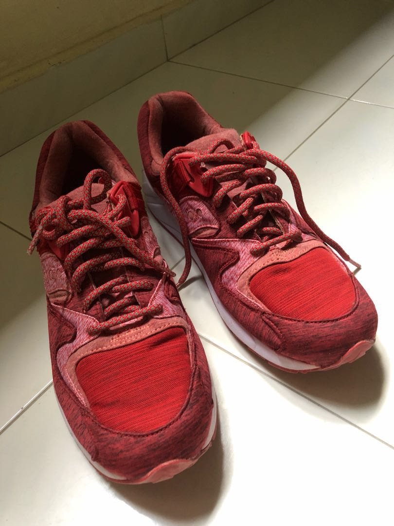 a154939bdfa2 END x Saucony GRID 9000  Red Noise