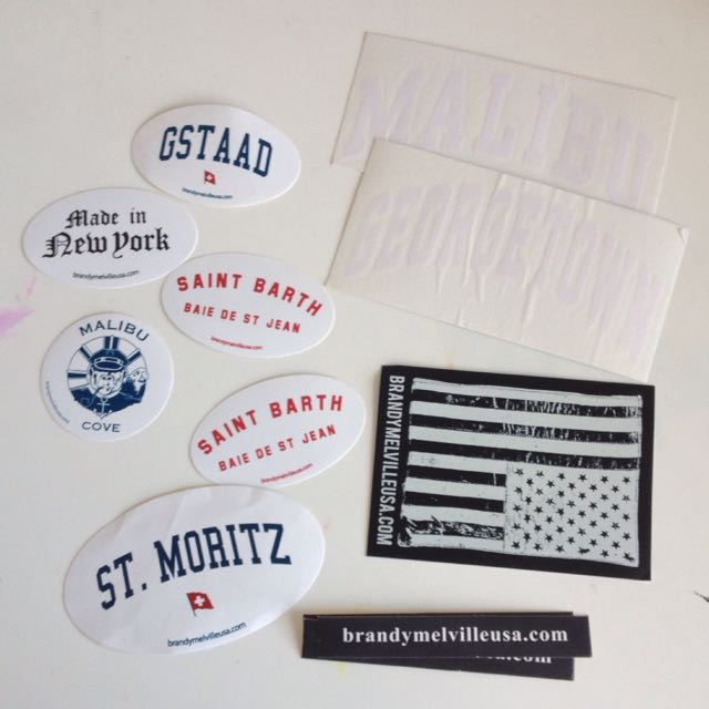 Free Stickers W/ Purchase