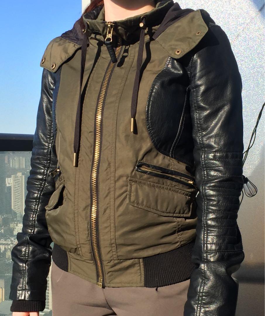 GARAGE Bomber Jacket size S