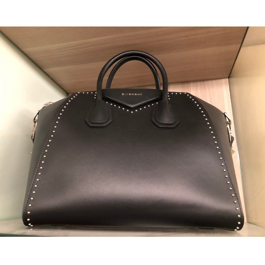 Givenchy Antigona Medium Studded Satchel Bag c4612ff7af213
