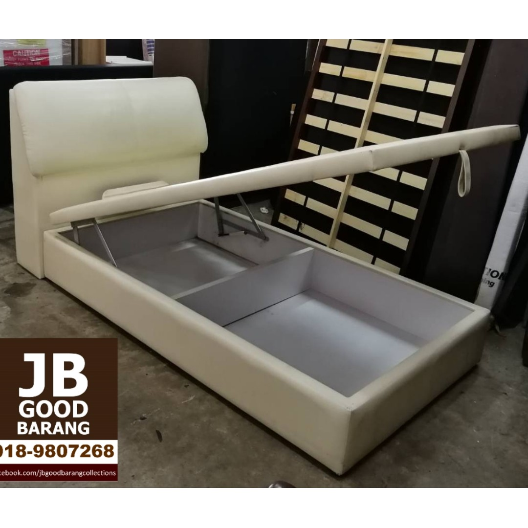 SOLD Good quality KingKoil Super Single Storage Bed Frame with Four ...