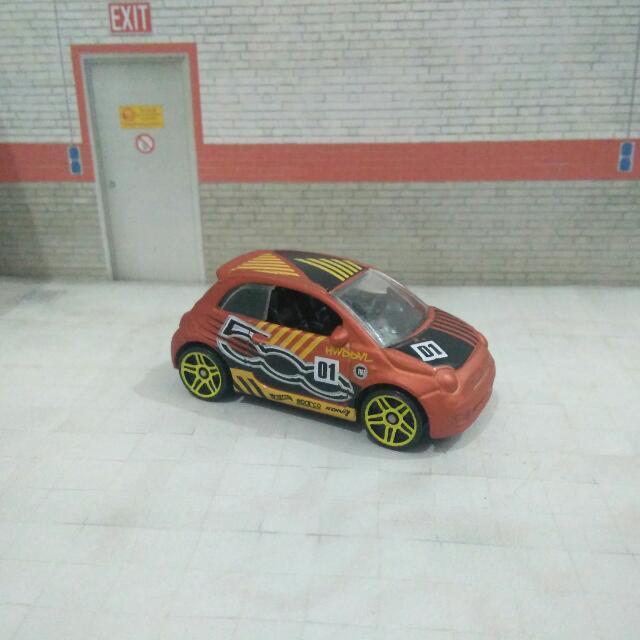 Hot Wheels Hotwheels Fiat 500 Toys Games Diecast Toy Vehicles