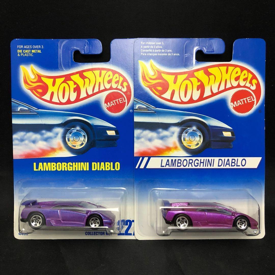 Hot Wheels Lamborghini Diablo Toys Games Bricks Figurines On
