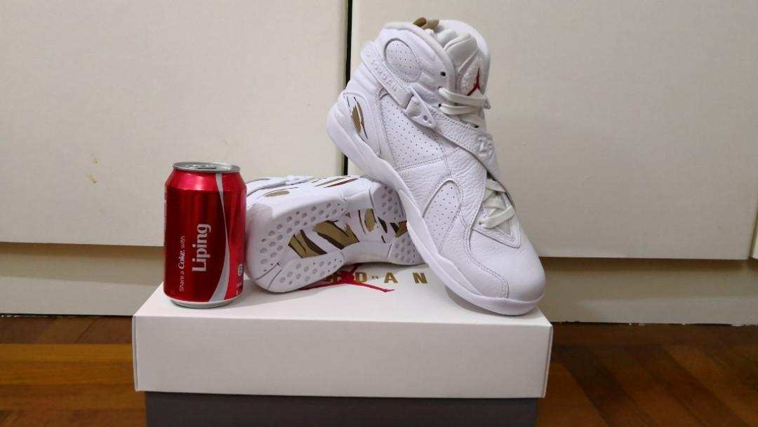 100% authentic e8f9e 52c51 Jordan 8 Ovo White
