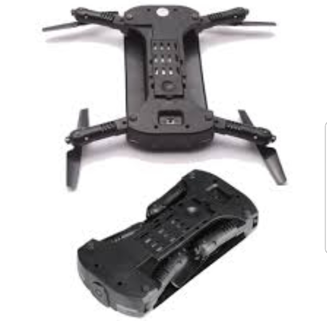 JXD 523 Tracker Foldable Mini RC Selfie Drone (Used but not