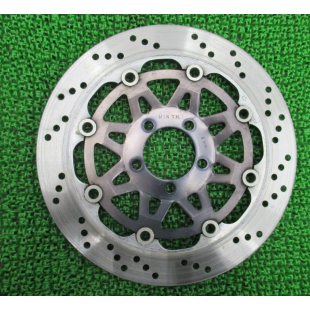 Kawasaki genuine motorcycle parts Barrios front brake disc ZR250A  (SHIP FROM JAPAN)