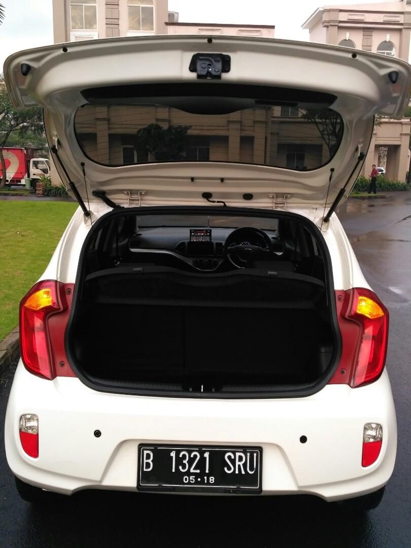 Kia All new Picanto SE3 1.2AT 2013 Putih Dp 17.5 angs ringan siap di Gas
