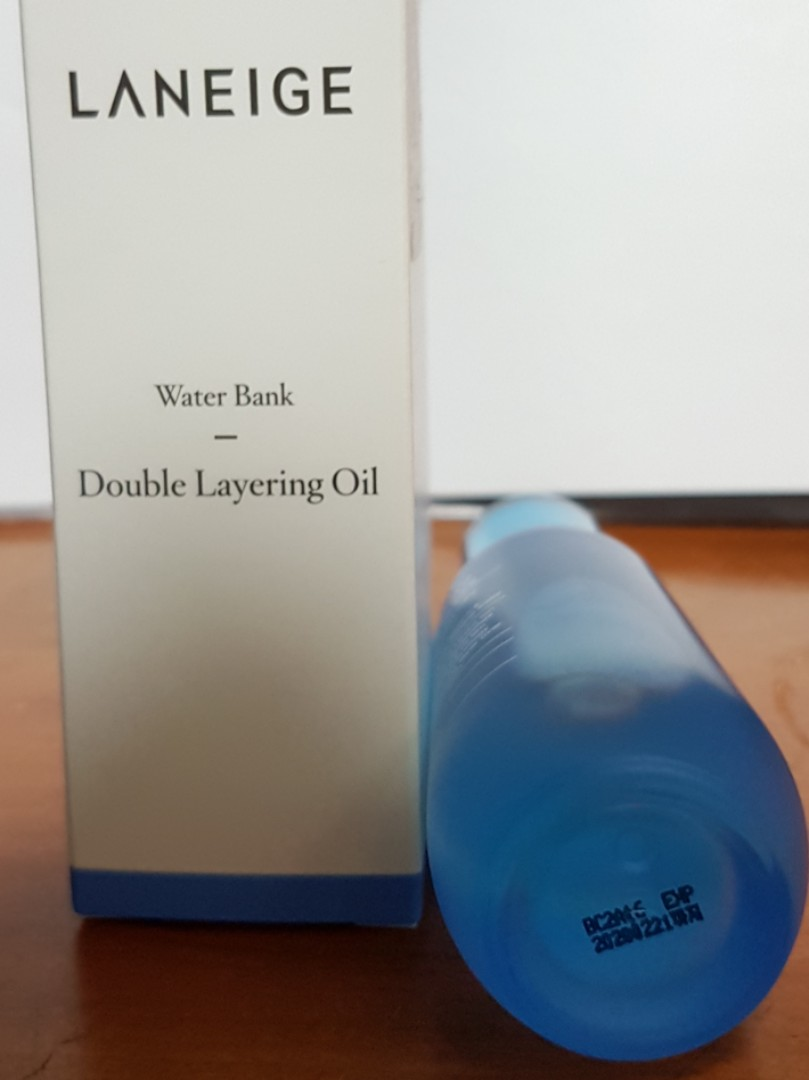 (BN) Laneige Water Bank Double Layering Oil