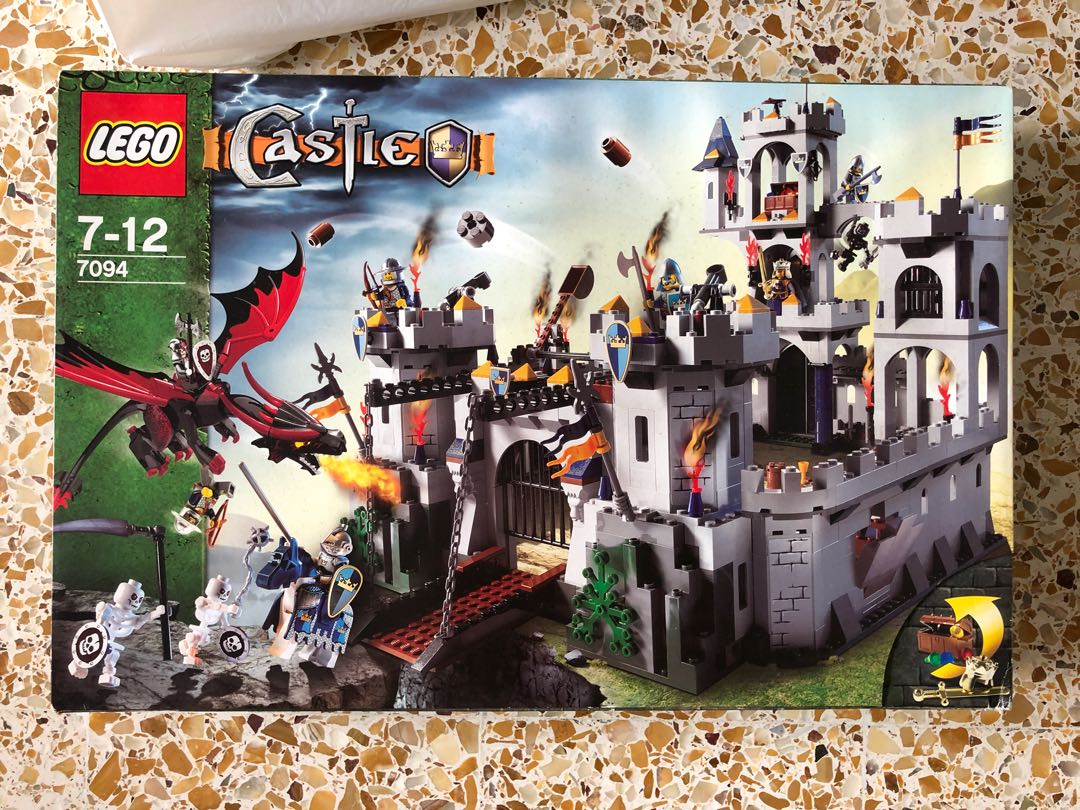 Lego Castle 7094 Kings Siege Brand New Sealed Toys Games
