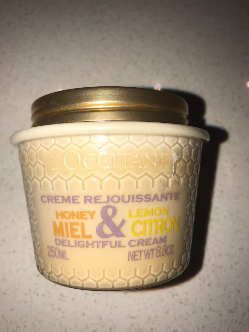 L'Occitane Honey & Lemon Delightful Cream 250ml