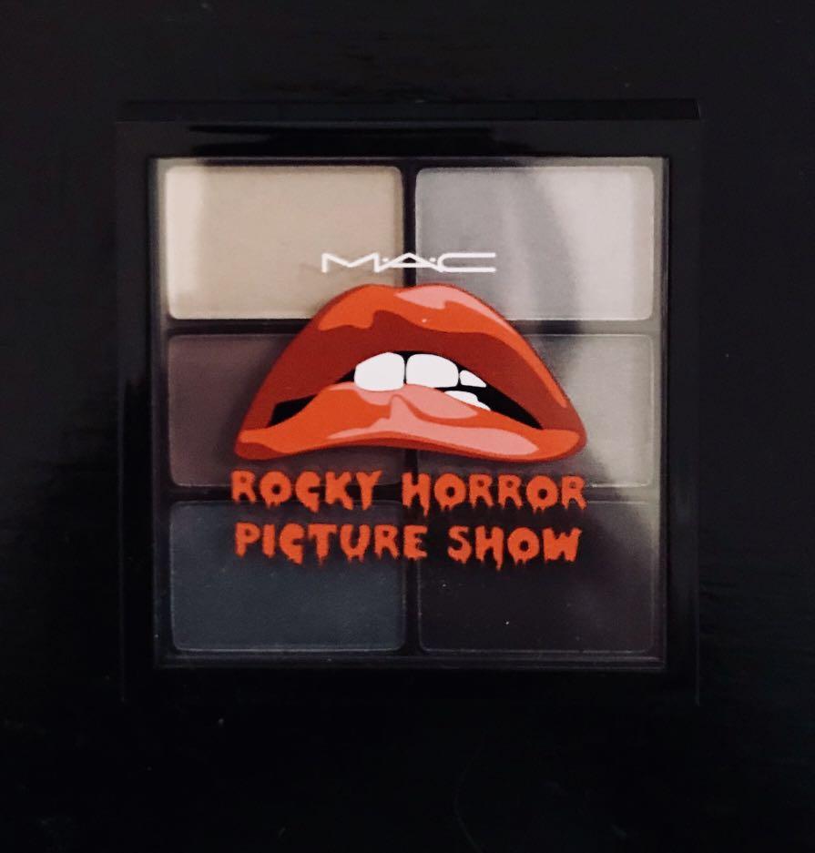 MAC Cosmetics Rocky Horror Picture Show RIFF RAFF Eyeshadow Palette - NEW
