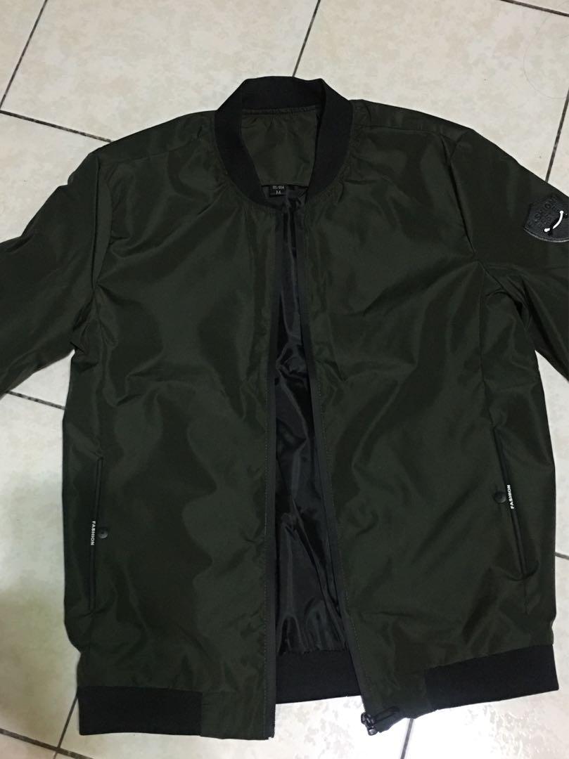 Men Bomber Jacket NEW