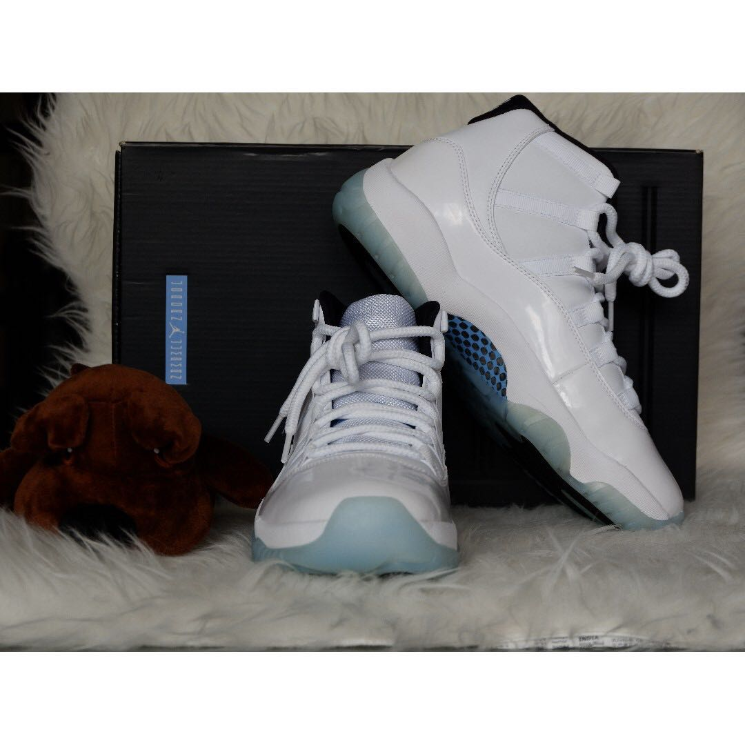 "709ca0ce1b0e Nike Air Jordan 11 ""Legend Blue"" US 9"