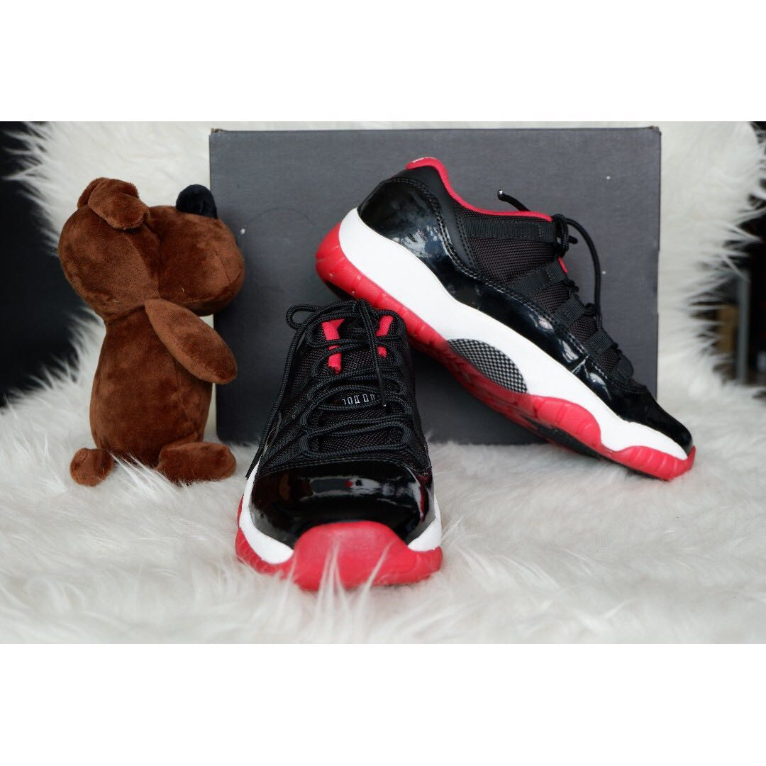 95e05ee5e7ce86 Nike Air Jordan 11 Retro Low Bred UK 5.5