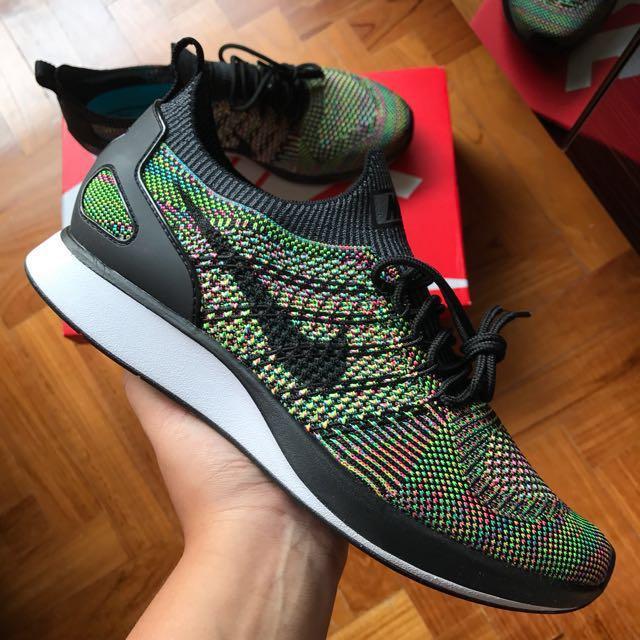 745ff6355ab8 Nike Air Zoom Mariah Flyknit Racer Multicolour Shoe