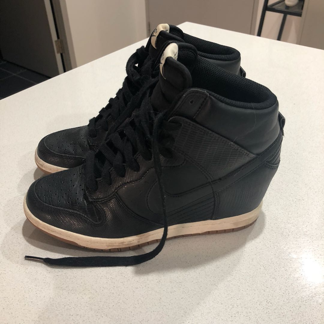 Nike sky high dunk sneakers - size 8 women's