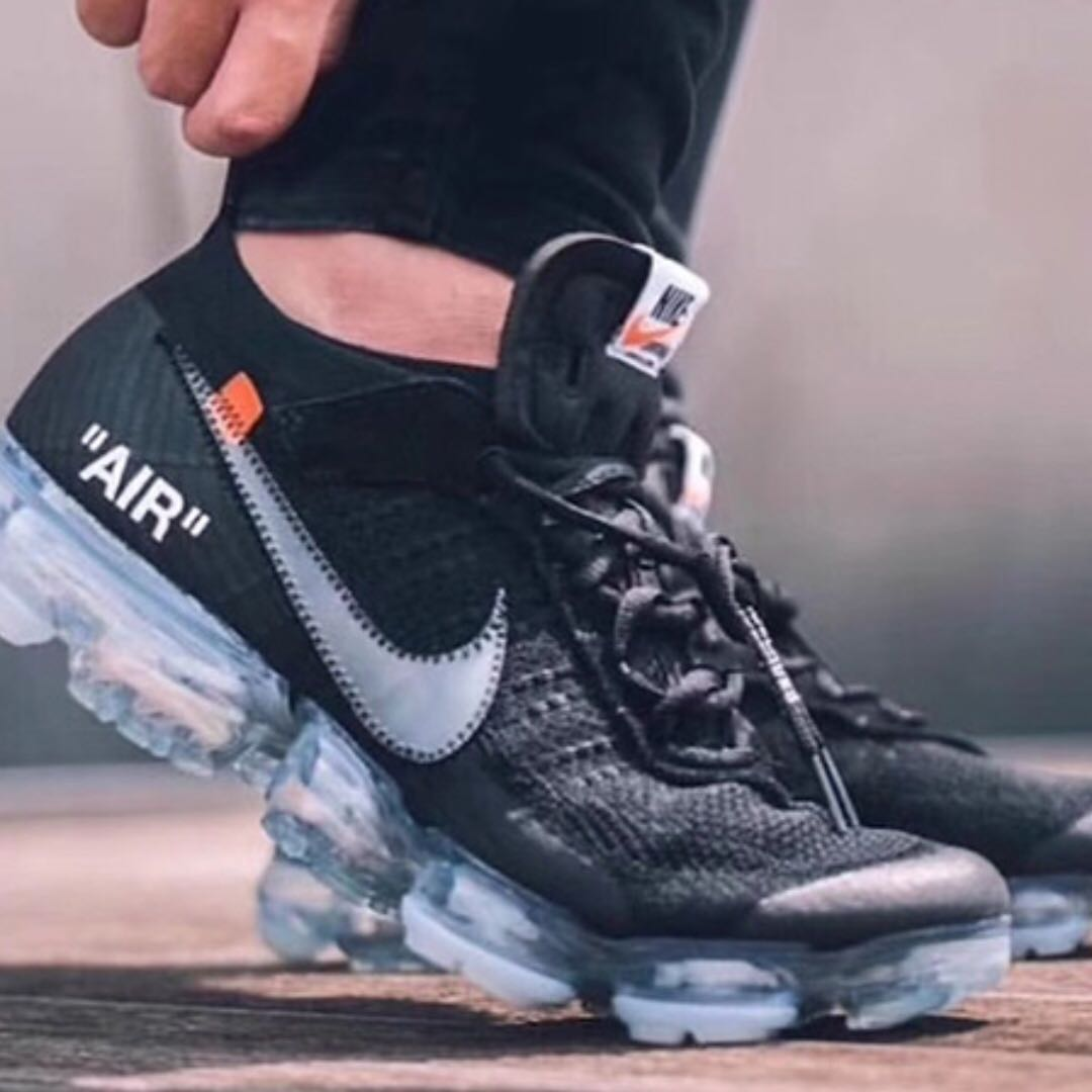 the best attitude 1d0b6 90834 Off-White Nike Air Vapormax Fk, Men s Fashion, Footwear on Carousell