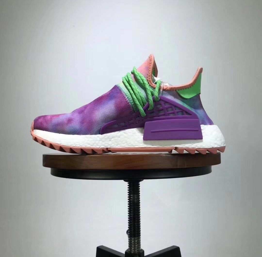 watch 31d15 d7df2 Pharrell x Adidas Orginal HU NMD Trail AC7034 Tie Dye, Mens Fashion,  Footwear, Sneakers on Carousell