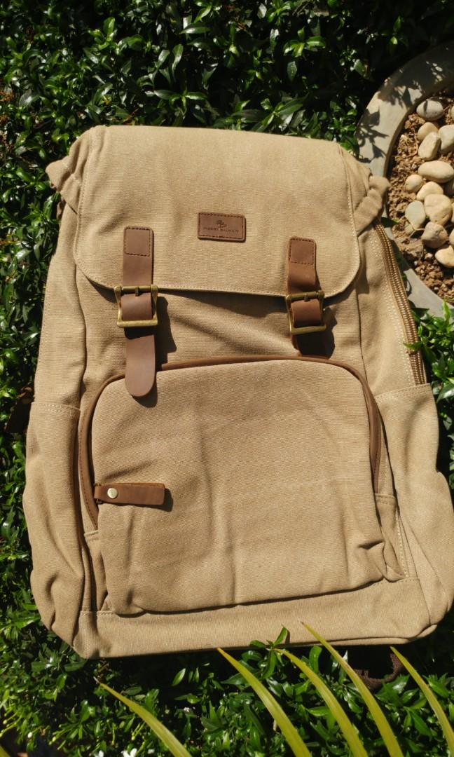 caa60f123f9 Pierre Balmain backpacks (Unisex), Men's Fashion, Bags & Wallets on ...