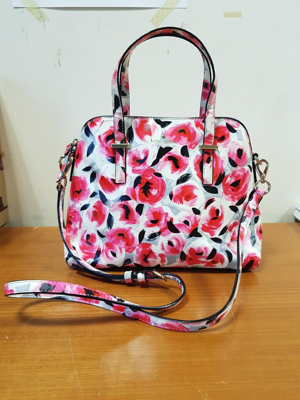 Preloved Kate Spade Cedar Street Rose Maise Satchel Bag Womens Katespade Fashion Bags Wallets On Carousell