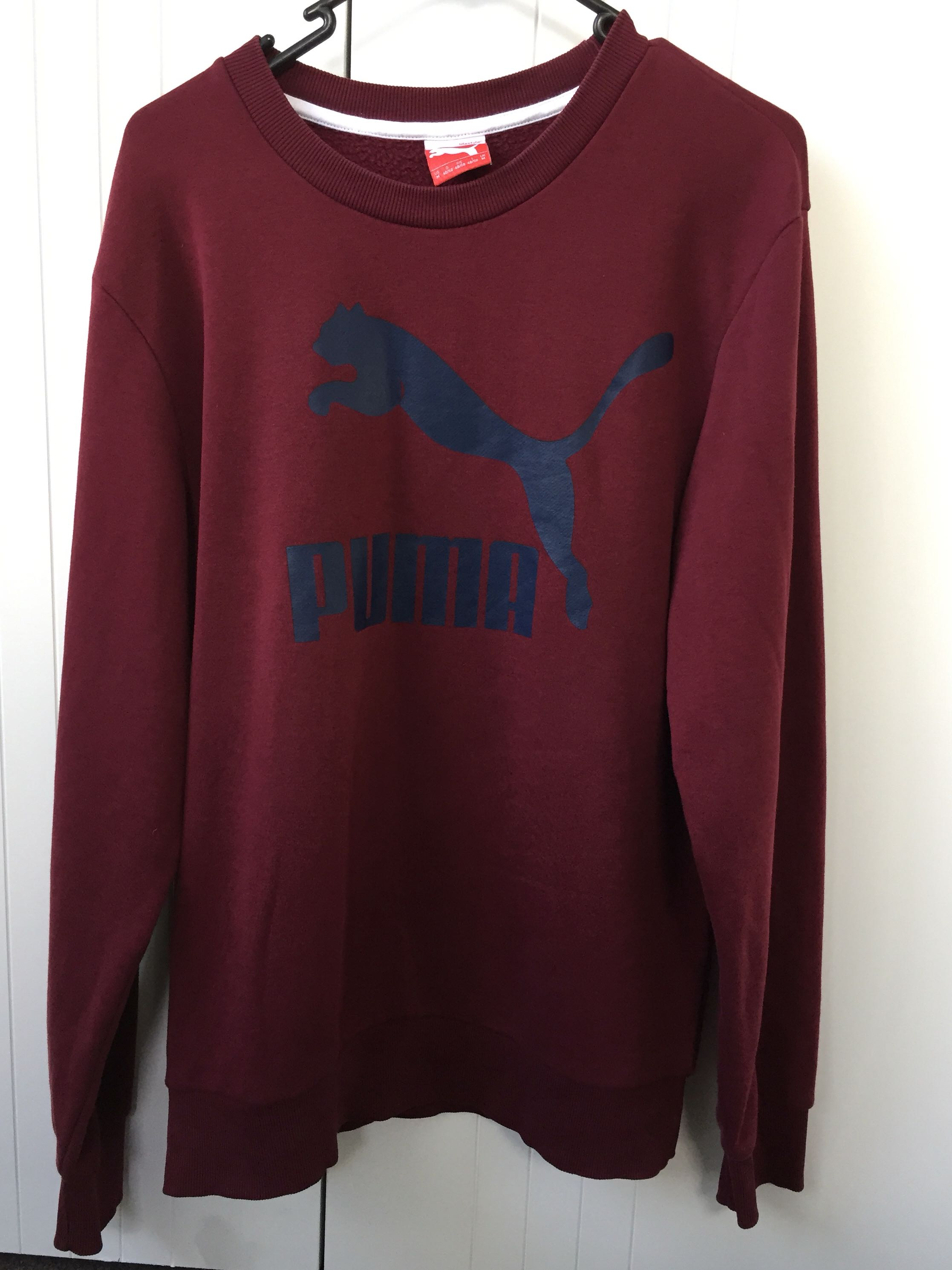 Puma Long Sleeve Jumper