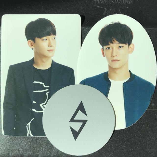 Rare Exo Exoluxion Dot Deco Stickers Chen Version Entertainment