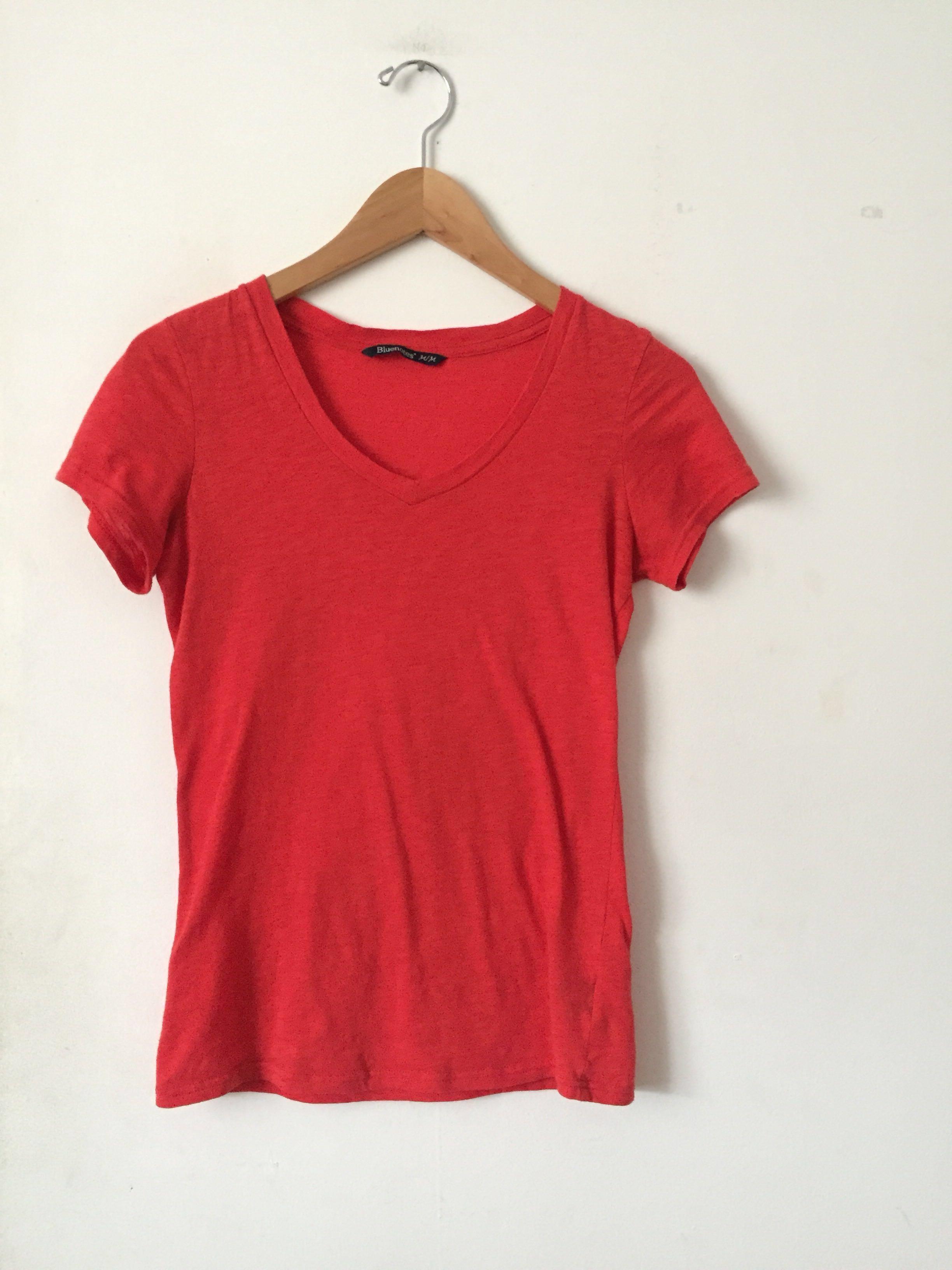 Red Bluenotes Shirt