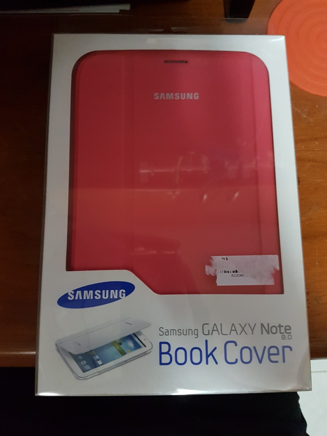 (BN) Samsung Galaxy Note 8.0 Book Cover (Pink)