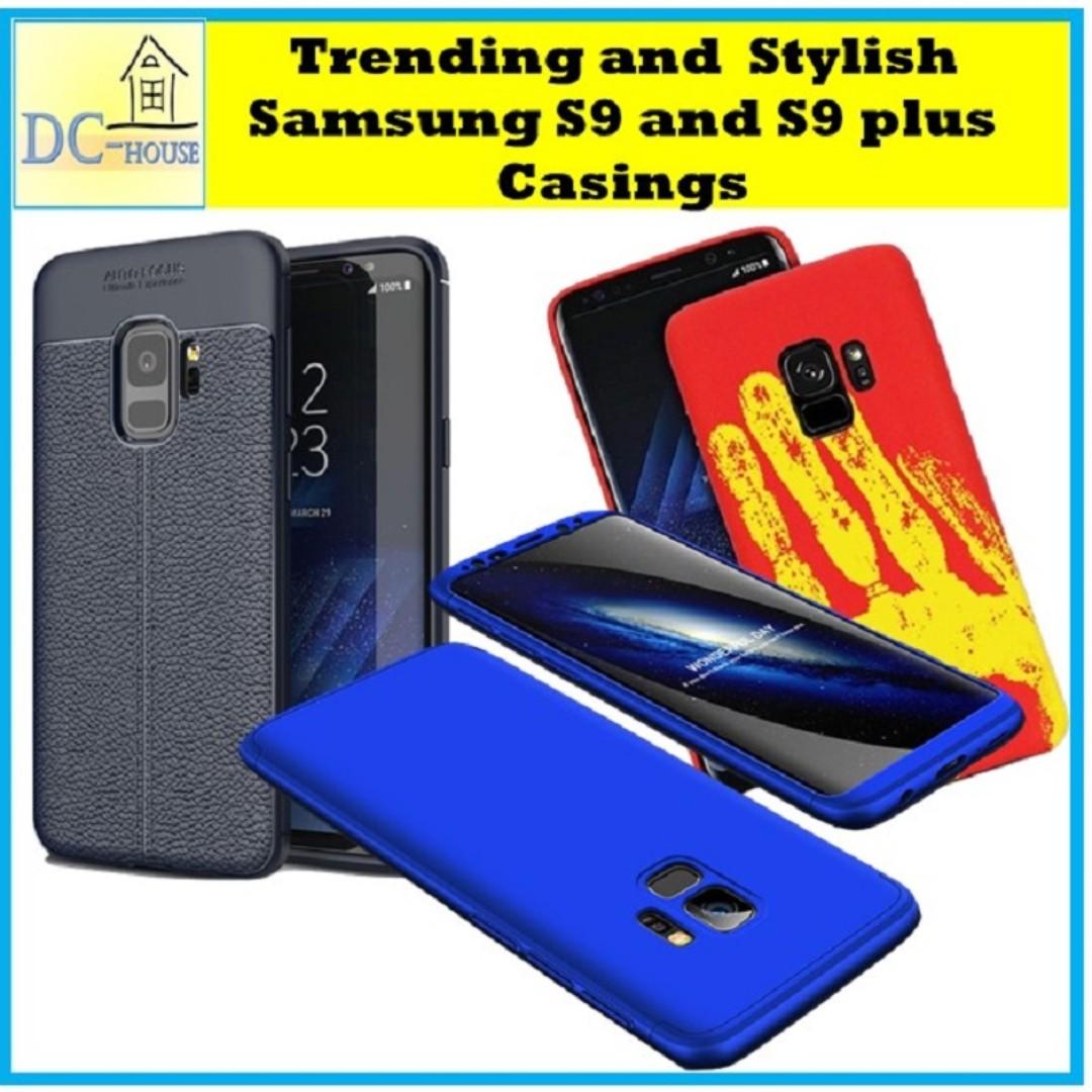 separation shoes 2174e e8d59 ★Samsung S9 & S9+ Case Casings Cover★2018 Trending Stylish★