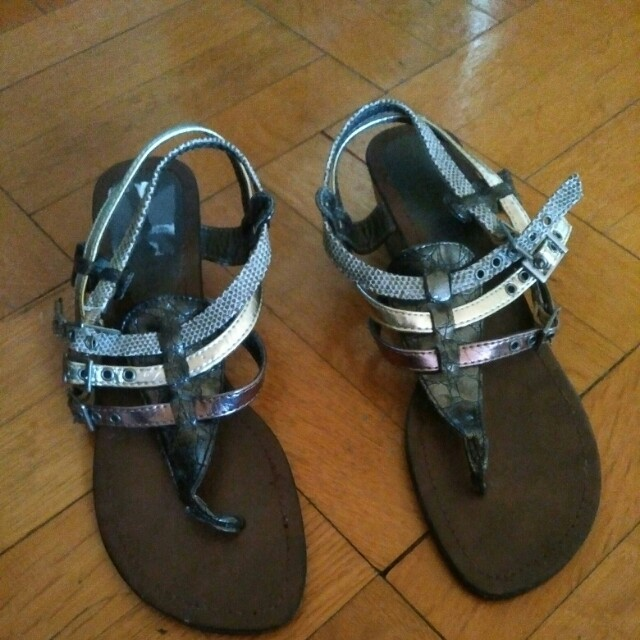 Size 7. Real leather