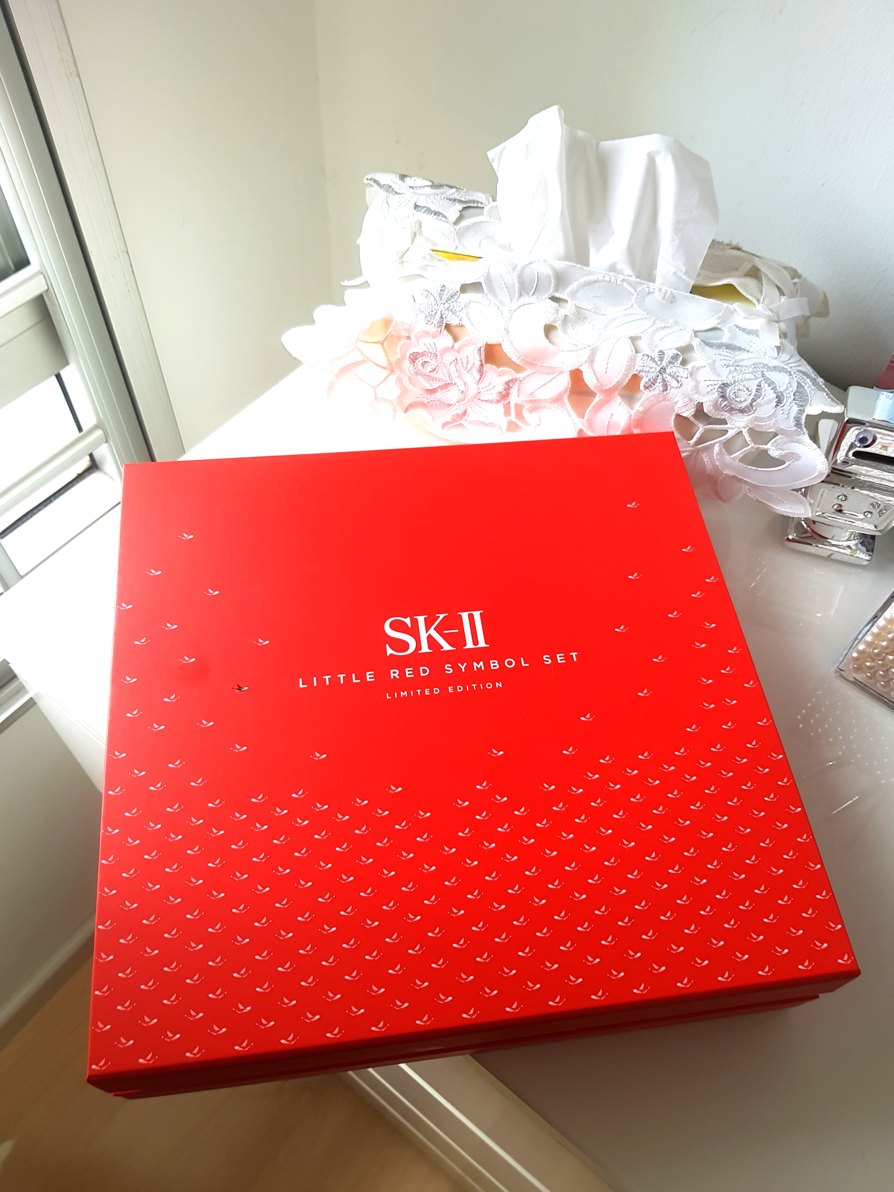 Sk Ii Facial Treatment Essence Little Red Symbol Set Limited 250ml Edition Health Beauty Bath Body On Carousell