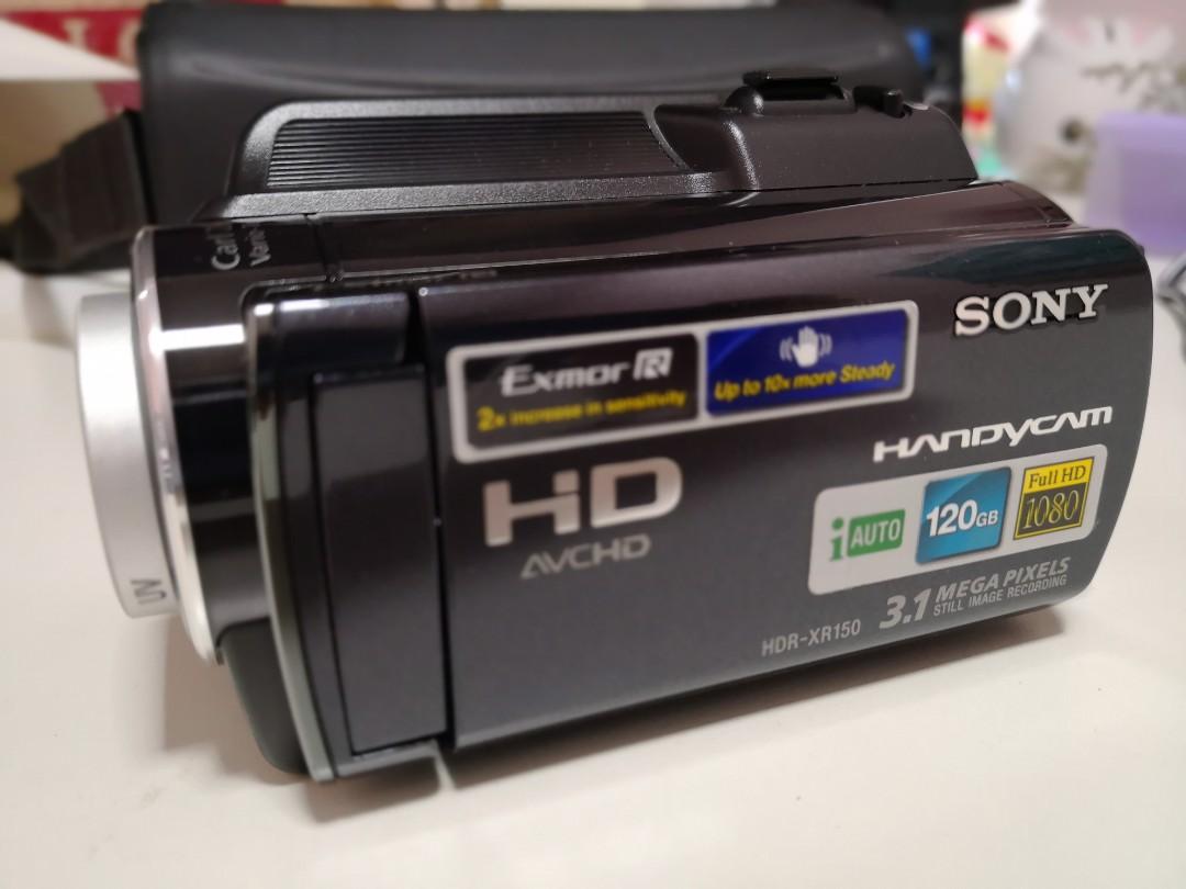sony handycam hdr-xr150