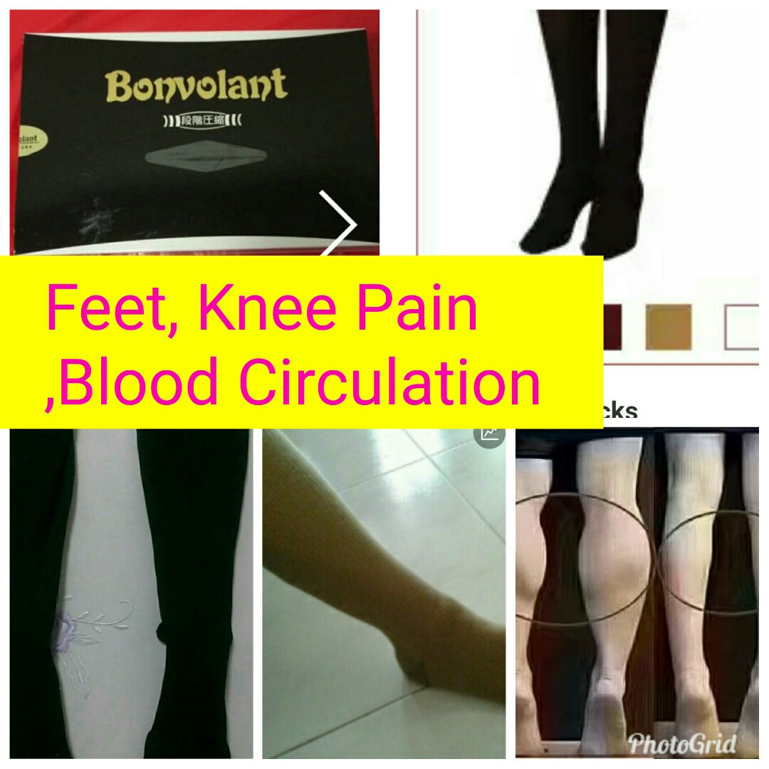 CompressionSocks For Water Retention, Numb, Air Flight Use, Stroke,  Maternity, Leg, Sports, Vericose Veins, Tone, Firm Calf, Everything Else on  Carousell