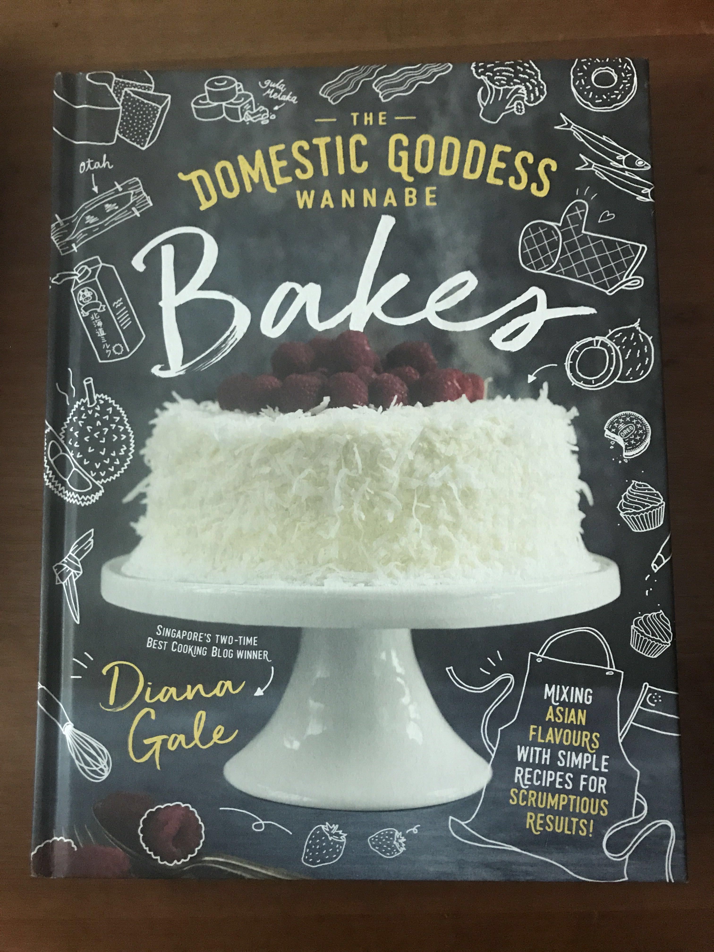 The Domestic Goddess Wannabe Bakes, Books & Stationery