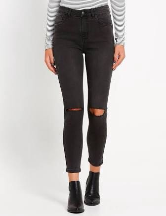 The Leah Rip Jeans