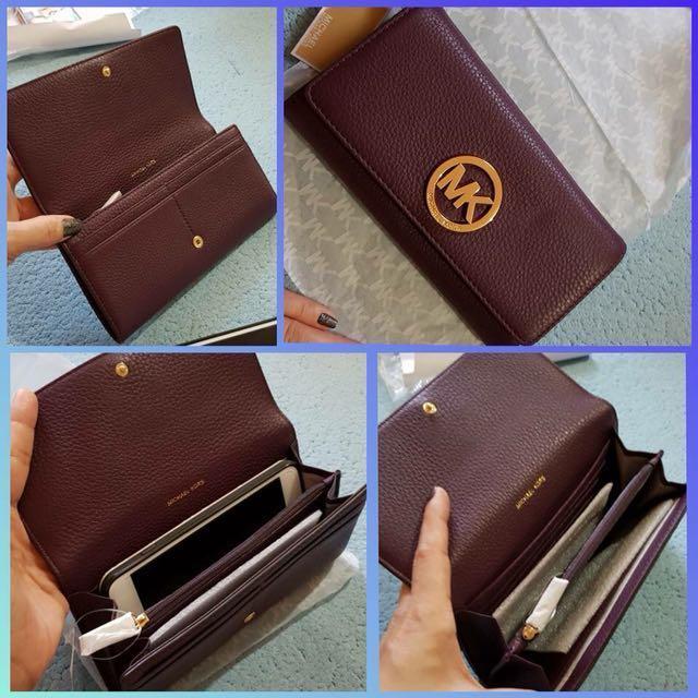U.S. Authentic MK Fulton Wallet