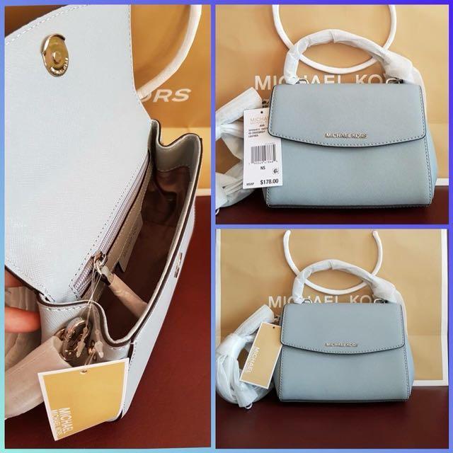 U.S. Authentic MK Mini Ava Light Blue