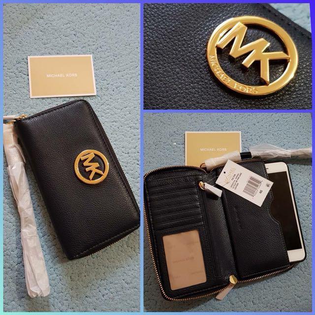 U.S. Authentic MK Multi Function Phone Wallet