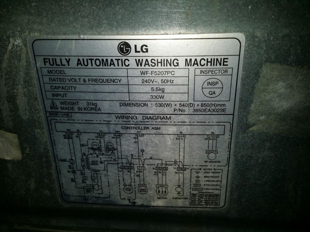 Wiring Diagram M0604166 Ge 4l60e Transmission Plug Z3 Stereo Lg Washer Machine Bmw 2000 Used 60kg Washing