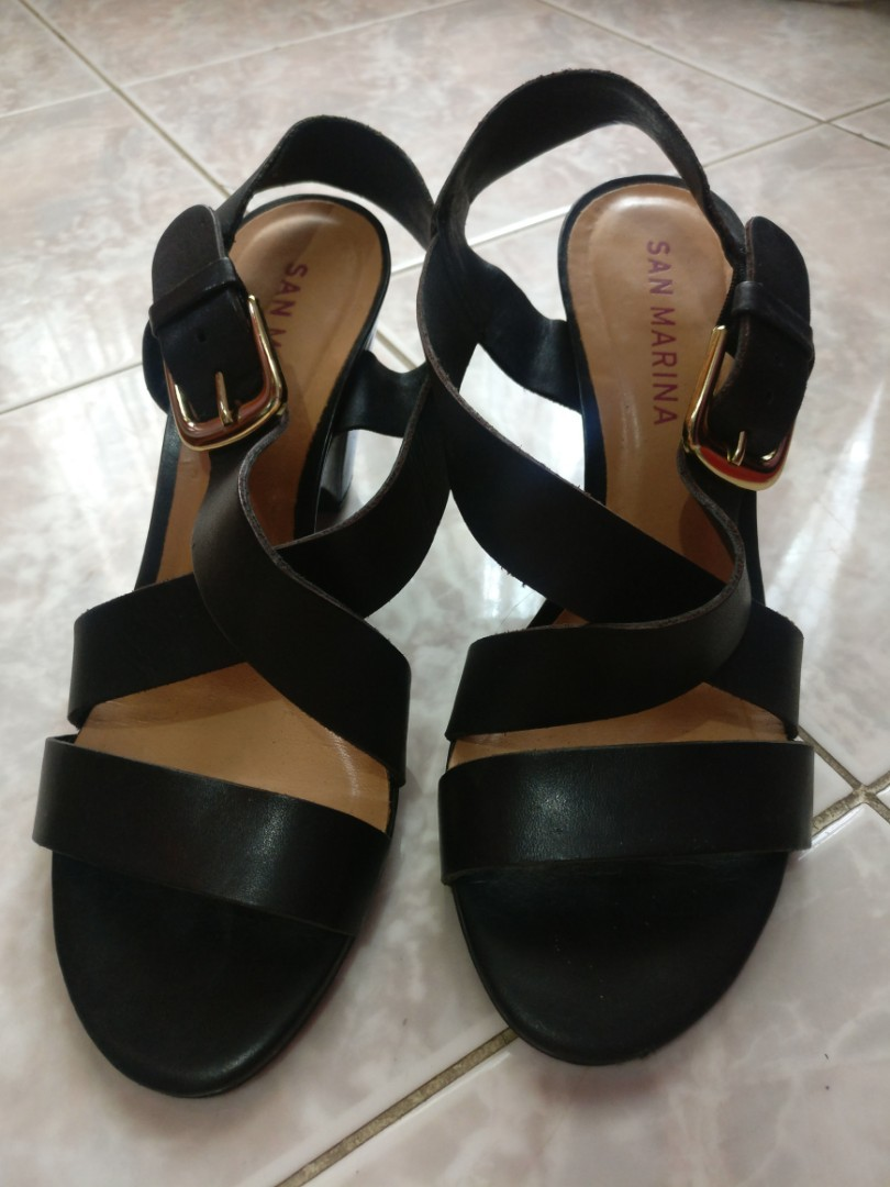 Wedges Hitam Made In Brazil Preloved Fesyen Wanita Sepatu Di Carousell Alk 08 Beranda Photo