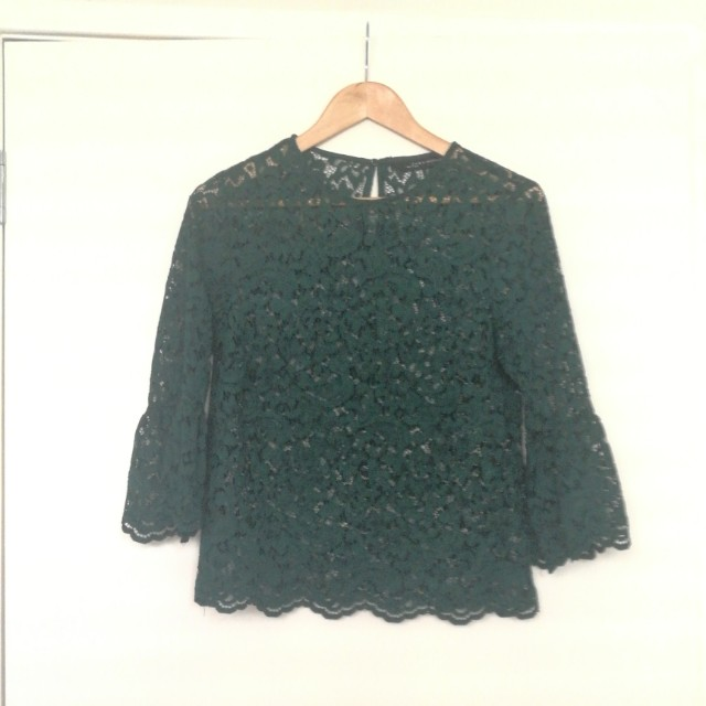 Zara Lacey top S
