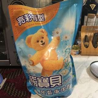 🚚 熊寶貝 柔軟精補充包
