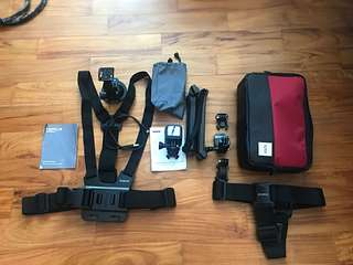 Go pro hero 5 sessions for sales with accessories